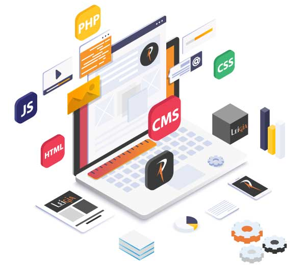 CMS Web Design and Development in Goa|Content Management System