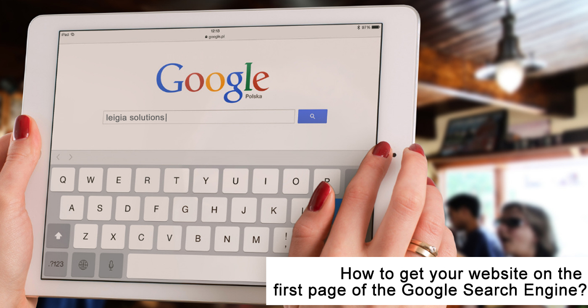 First-page-google-search-engine